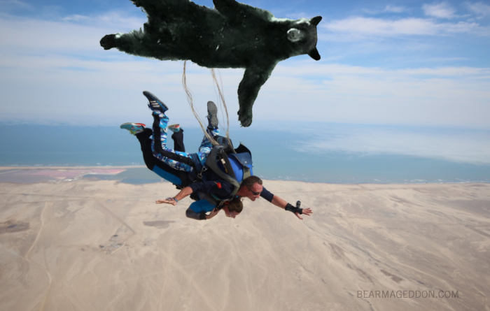 Skydivers Dead After Parachute Turns Out to be Bear