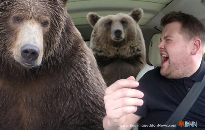 James Corden's Wildest Carpool Karaoke Yet: Bears
