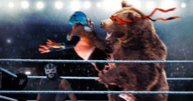 Grizzly Bear Shatters All Pro Wrestling Records After Identifying As Human